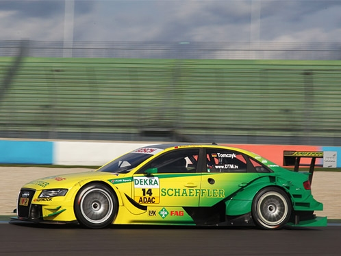 Audi reaches for lead of the DTM standings