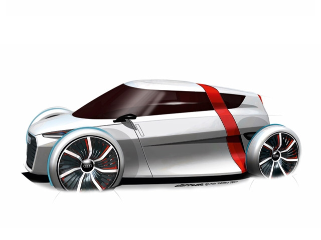 The Audi urban concept - a completely new kind of concept car