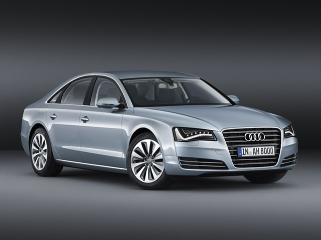 Consistently efficient - the Audi A8 hybrid
