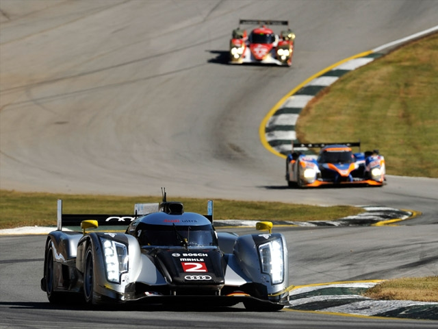 Disappointing Petit Le Mans for Audi
