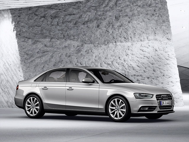 The new Audi A4 and the new Audi S4