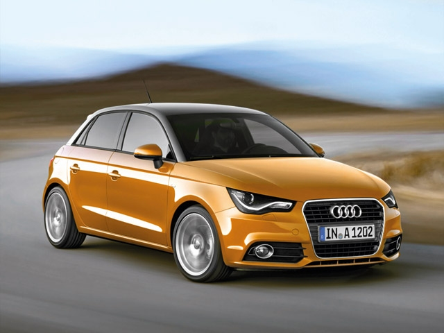 The compact Audi with five doors � The Audi A1 Sportback