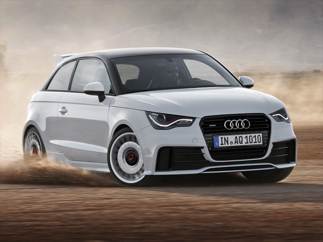 The new head of the compact class: The Audi A1 quattro