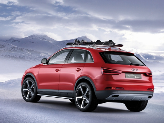Winter sports and functionality � the Audi Q3 Vail