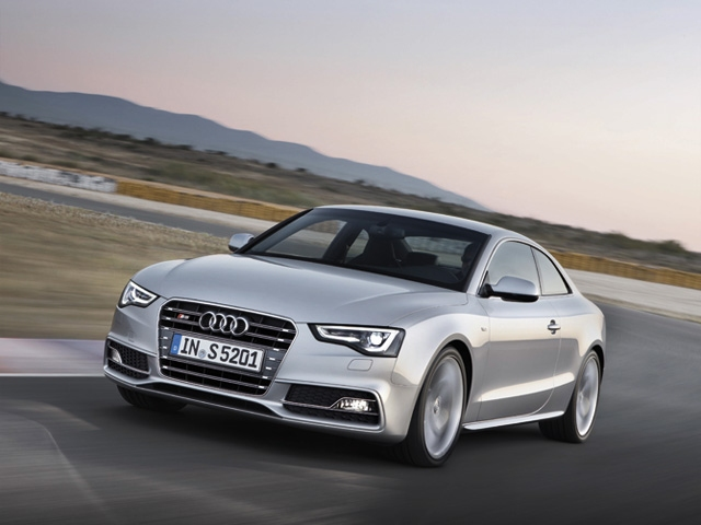 The New Audi A5 and S5 for 2013 Model Year