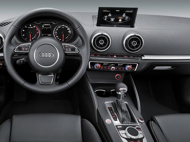 Audi at the CES 2012 in Las Vegas
