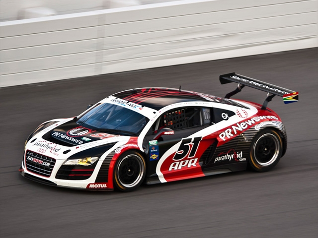 Premiere for Audi at the Daytona 24 Hours