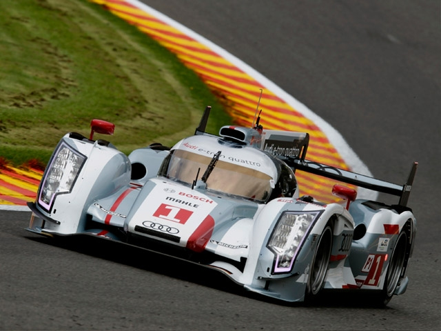 Audi 1-2-3-4 victory at Spa on premiere