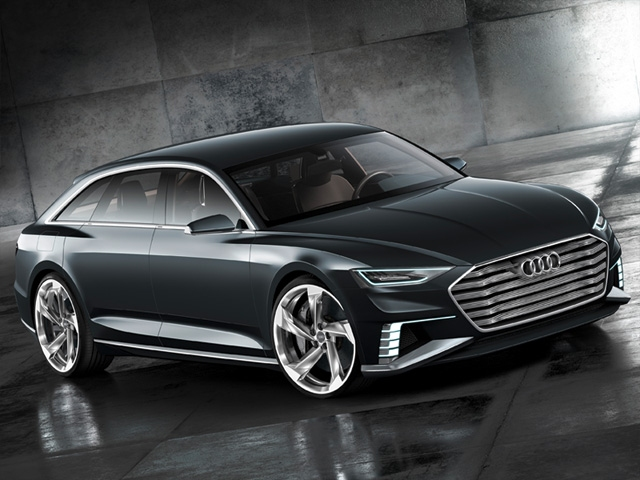 Sporty and elegant, versatile and connected - the Audi prologue Avant show car