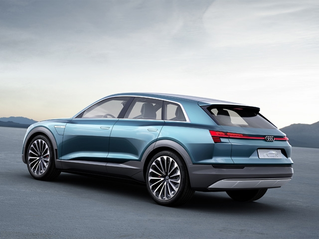 Audi e-tron quattro concept: Electric driving pleasure with no compromises
