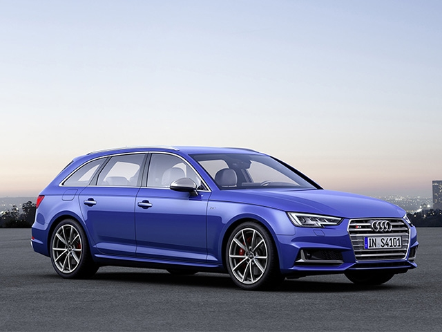 At the peak of the competitive field - the new Audi S4 and S4 Avant