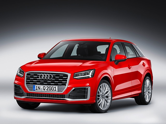 Stage debut: the new Audi Q2