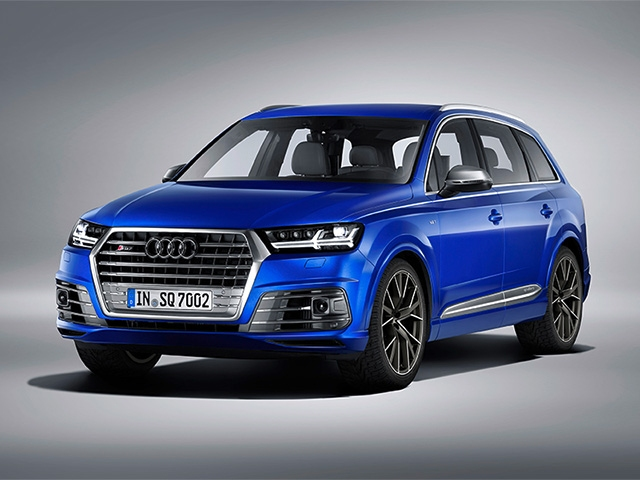 Audi SQ7 TDI: Driving Innovation
