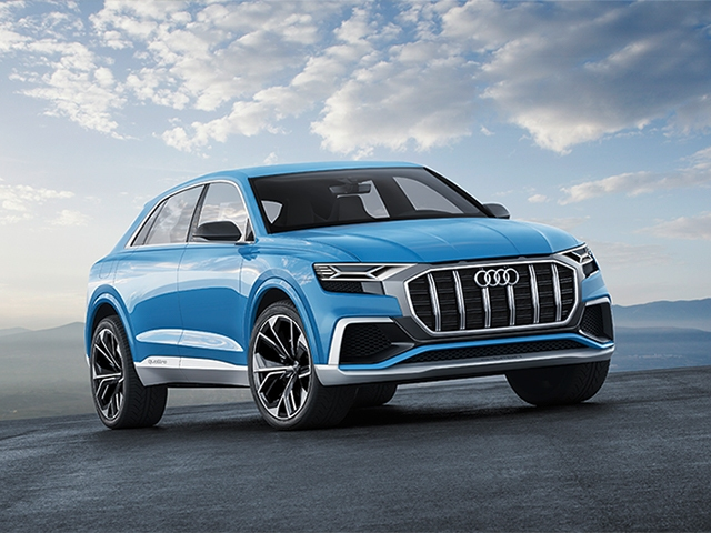 Full-size SUV in coupe design: Audi Q8 concept