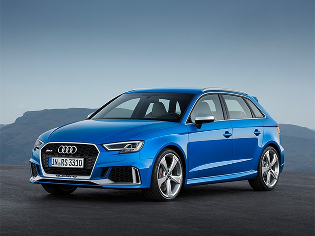 New engine and an even sharper look: Update for the Audi RS 3 Sportback