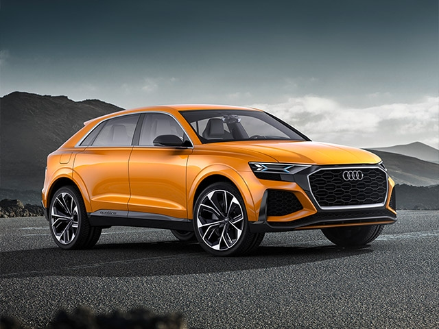 Talented and multi-disciplined: the Audi Q8 sport concept