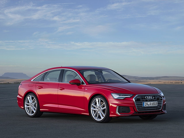 Upgrade in the business class: the new Audi A6 Sedan