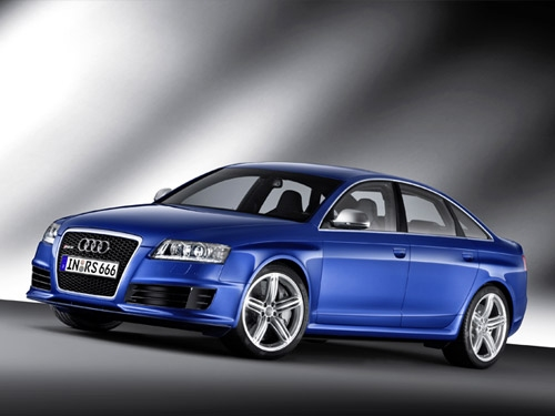 580PS Audi RS 6 sedan ushers in new A6 range