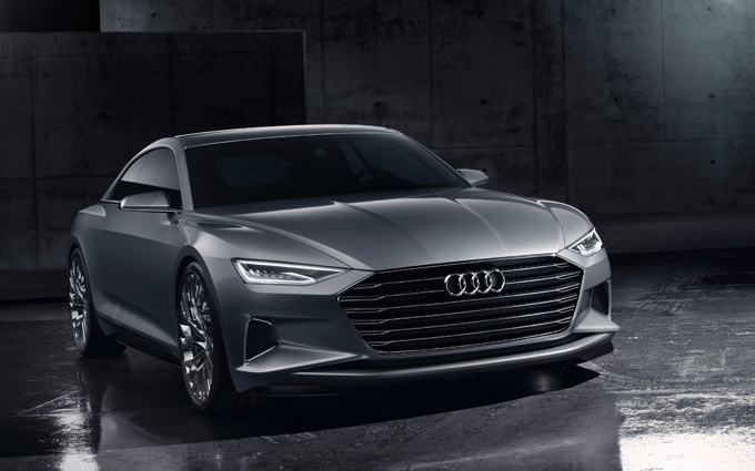 The Audi prologue show car - launching into a new design era