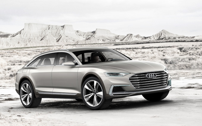 The new form of automotive freedom: the Audi prologue allroad show car