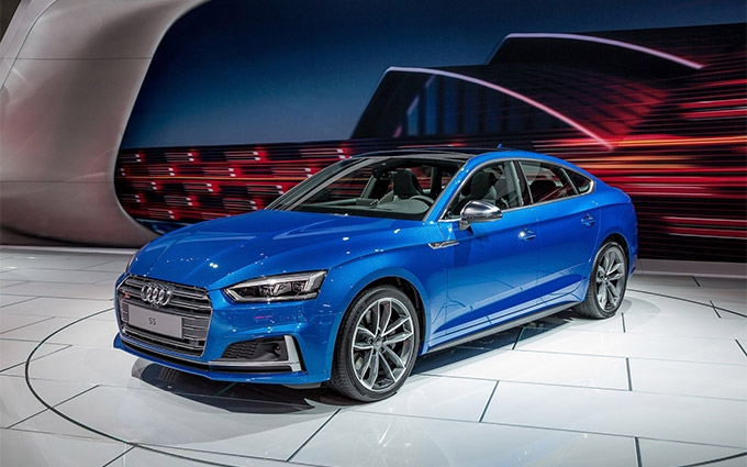 2018 S5 Sportback leads segment in performance, refined design, functionality