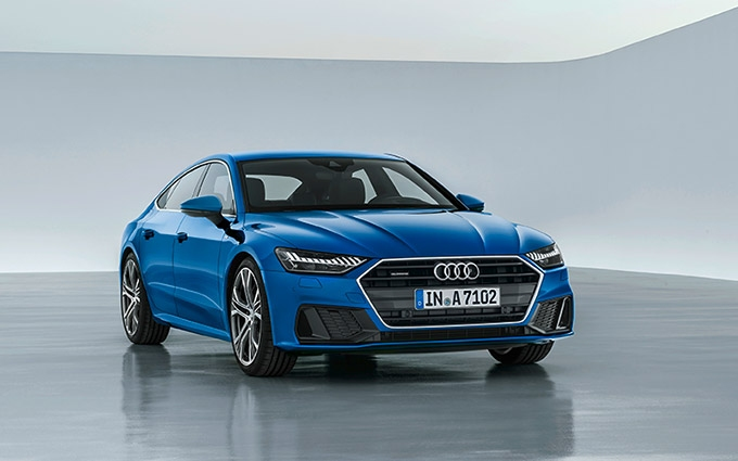 The new Audi A7 Sportback: Sporty face of Audi in the luxury class