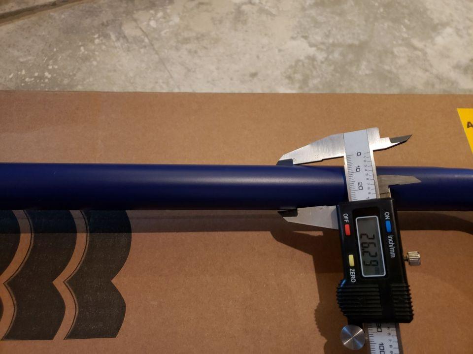 S6 rear sway bar diameter