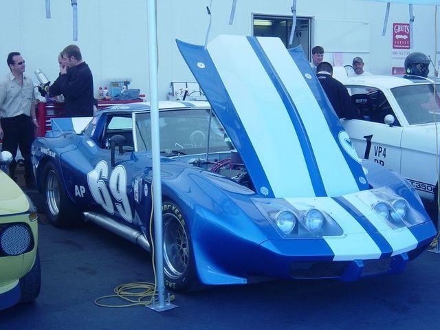 one VERY fast corvette