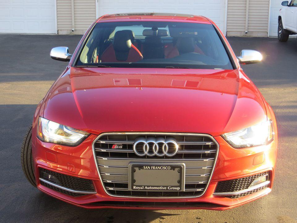 2015 Audi S4 (Volcano Red)