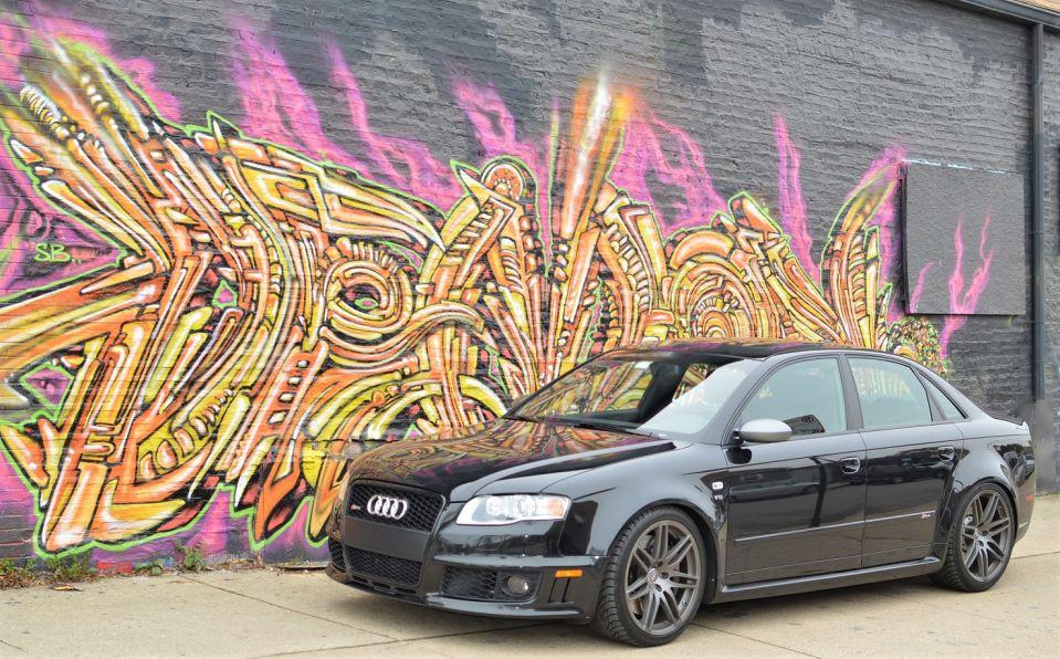 B7 RS4 Ti
