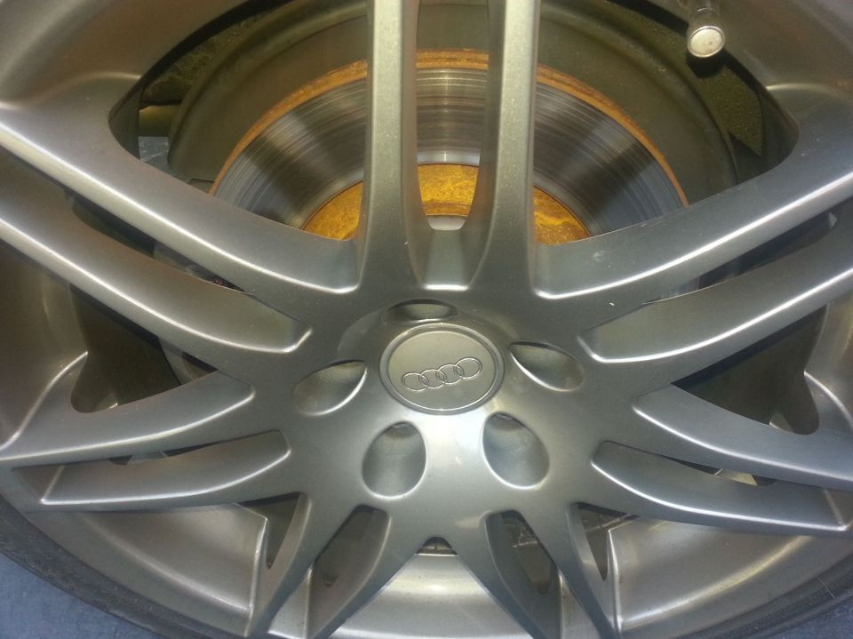 Balo rear rotors from ECS