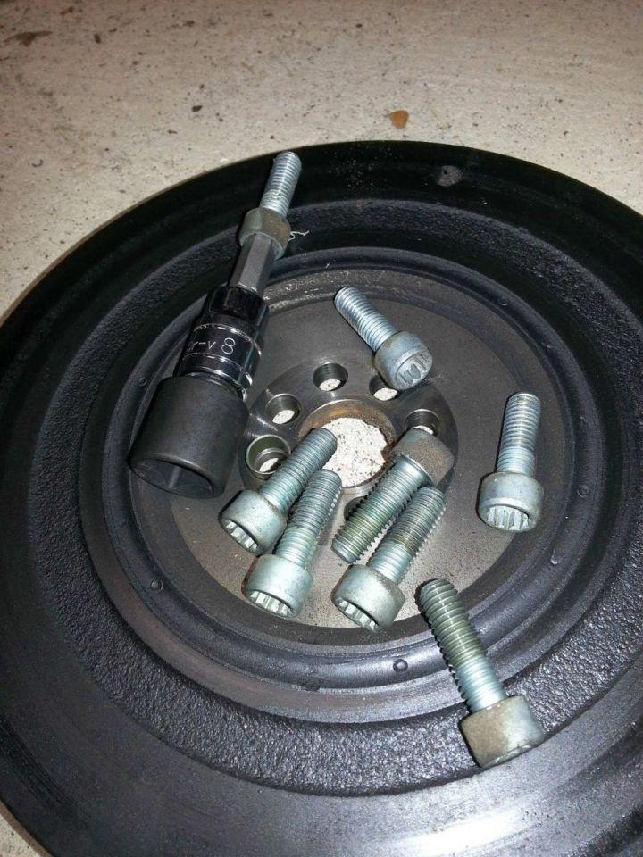 M10 triple square bolt to M8 Hex fix