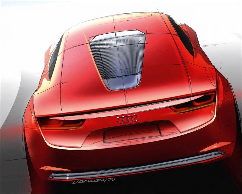 Audi e-Tron Concept Study - 1280x1024