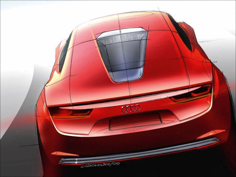 Audi e-Tron Concept Study - 1600x1200