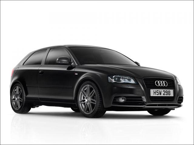 The Audi A3 Black Edition