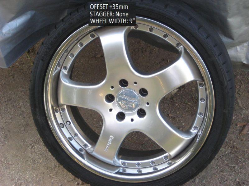 """19"""" Carlsson Wheels $700.00obo"""
