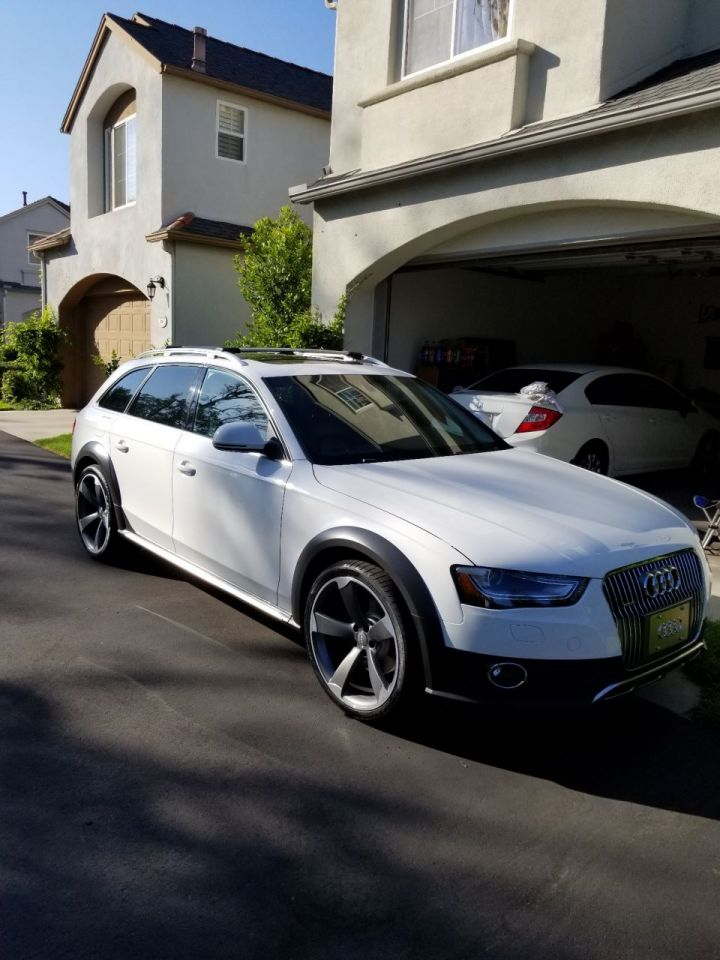Allroad with 20x9 rotors