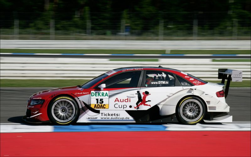 Audi A4 DTM at Hockenheim - 1680x1050