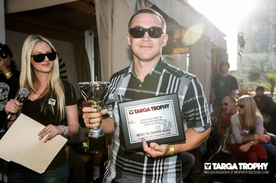 Audizine at Targa Trophy's German Car Festival - March 23, 2013