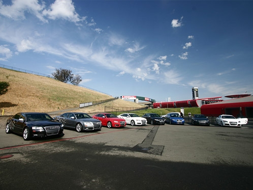 Audi Sportscar Experience at Infineon Raceway, Sonoma CA