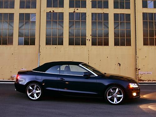 Review: 2010 Audi A5 2.0T quattro Cabriolet