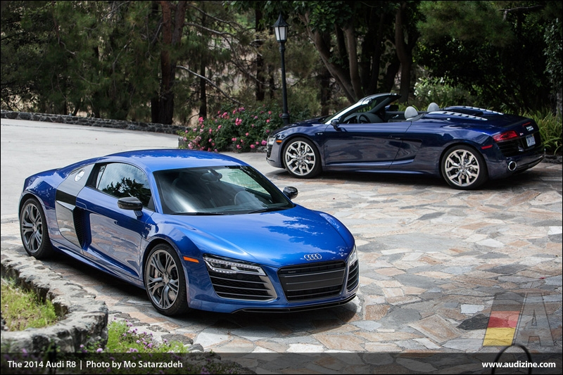 The 2014 Audi R8 - Photo by Mo Satarzadeh