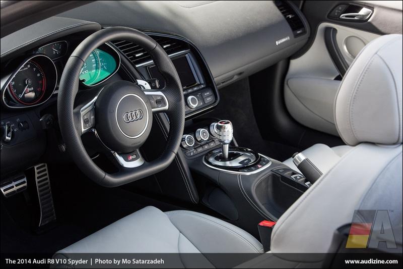 The 2014 Audi R8 V10 Spyder - Photo by Mo Satarzadeh