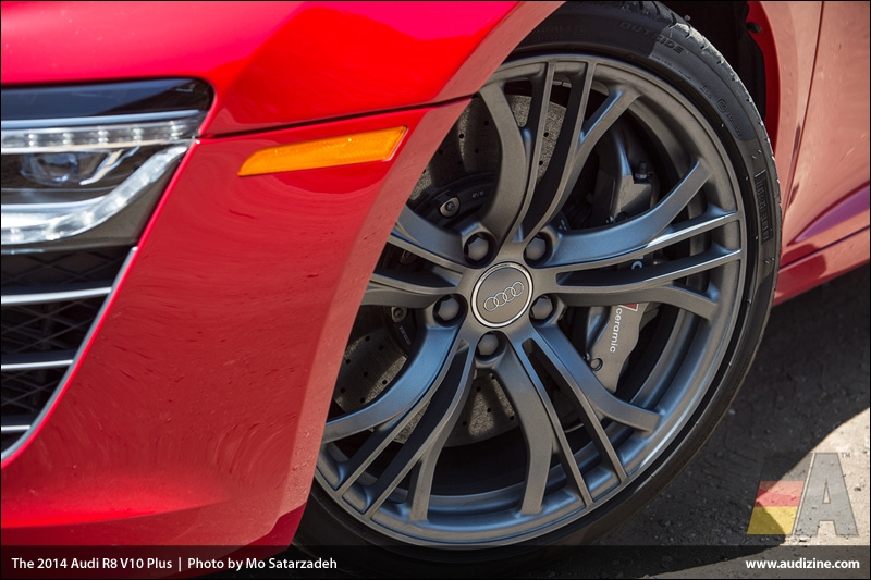 The 2014 Audi R8 V10 Plus - Photo by Mo Satarzadeh