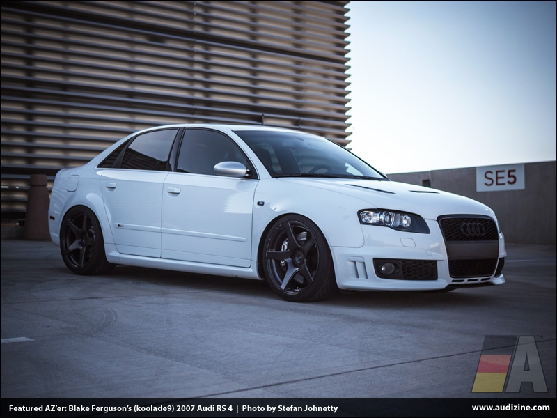 koolade9's 2007 RS 4 - photo by Stefan Johnetty