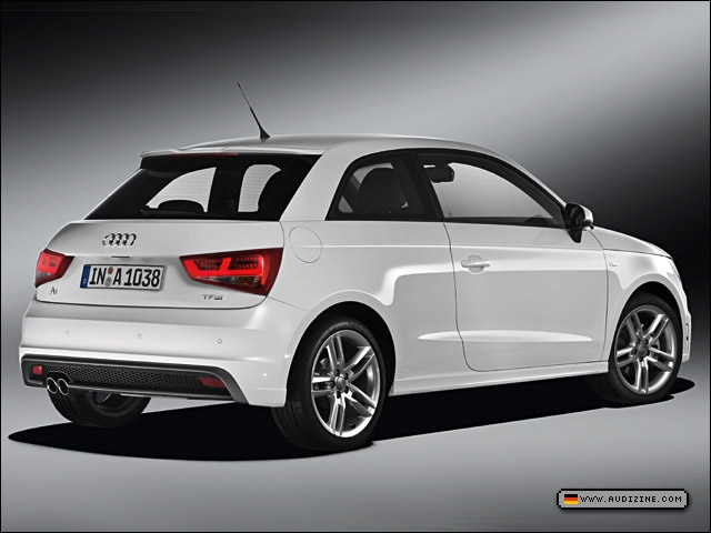 The dual-charged Audi A1 1.4 TFSI S line - Audi AG