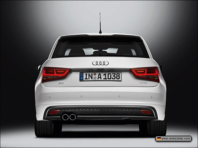 The dual-charged Audi A1 1.4 TFSI S line - Audi AG