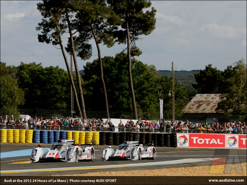 Audi at the 80th running of the Le Mans 24 Hours - AUDI SPORT