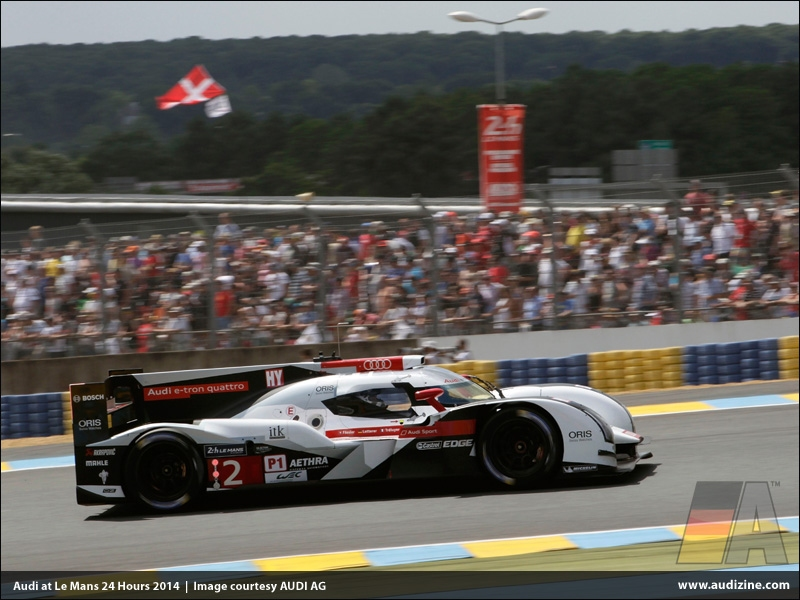 Audi at Le Mans 24 Hours 2014 - AUDI AG