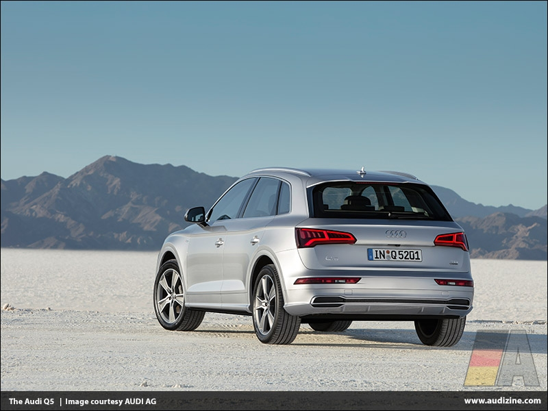 The second generation Audi Q5, Florett Silver - AUDI AG